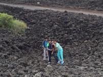 volcanic rocks at Rangitoto