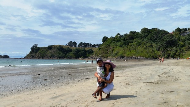 At Palm Beach, Waiheke Island