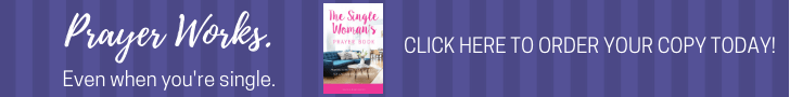 The Single Woman's Prayer Book Banner - Selina Almodovar- Christian Relationship Blogger & Coach