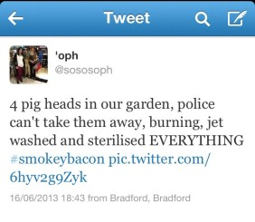 sosososoph tweet smokey bacon