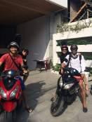 Motorbiking around Nha Trang. PC: Hang Tran