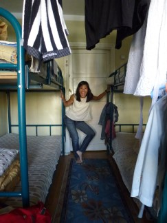 Our dorm room in UB Guesthouse.