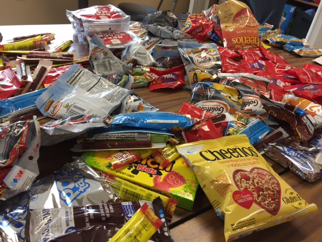 photo of kids' program snack donation