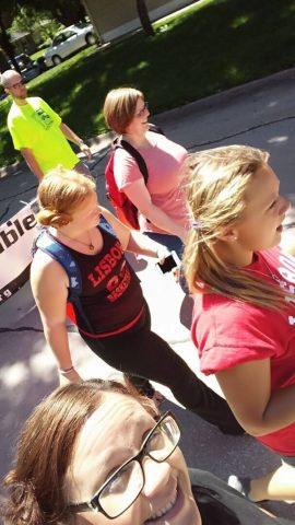 Photo of walking in Mount Vernon Heritage days parade 2017 (2)
