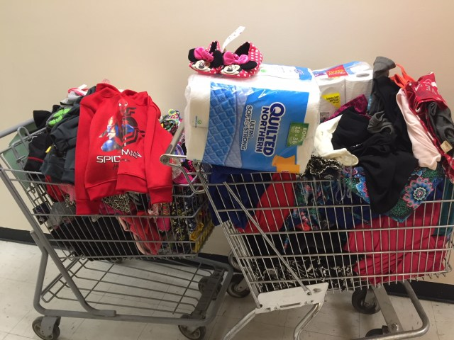 photo of donation from Dollar General
