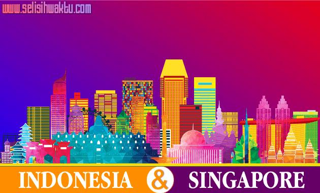 √ Selisih Waktu Indonesia Singapore