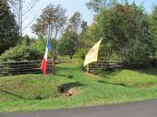 Entry to ancient Acadian Cemetery