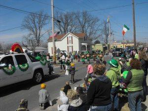 Ireland Indiana annual St. Patricks Day Parade