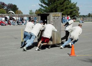 Huntingburg IN Outhouse Race