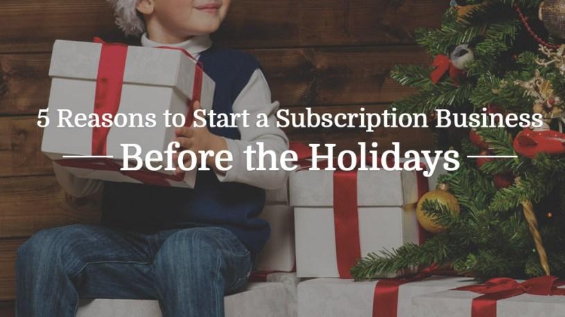 Start a Subscription Business