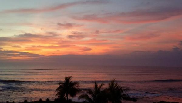 sunset over the Pacific at Gran Pacifica Resort