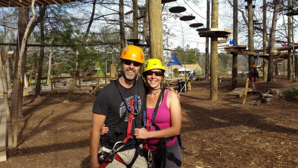 Treetops Adventure Date with sellallyourstuff.com