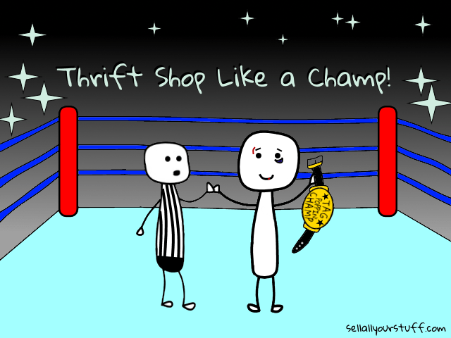 Thrift shop like a champ with sellallyourstuff.com
