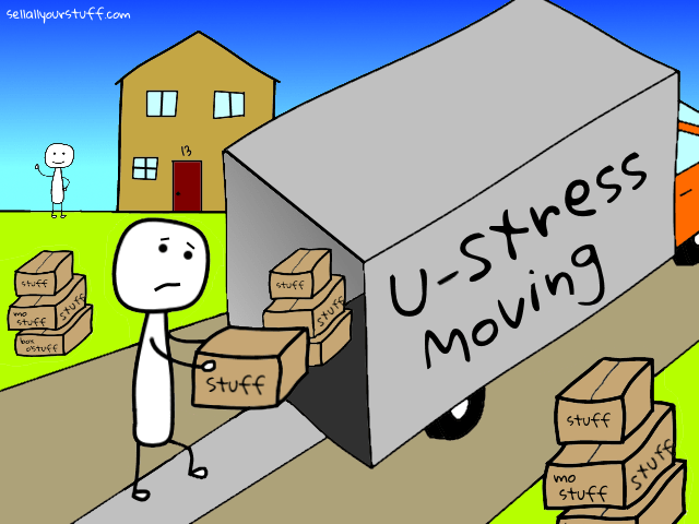 moving stress - by sellallyourstuff.com
