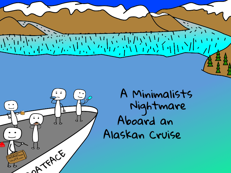 minimalist nightmares on alaskan cruise-title