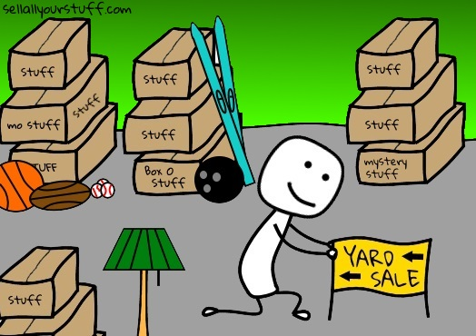 maximize your yard sale sales image
