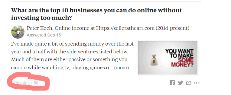 promote on quora