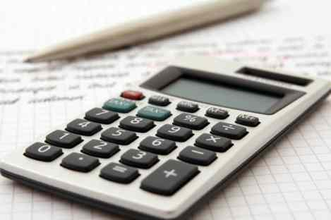 Calculator for figuring out self-employment taxes
