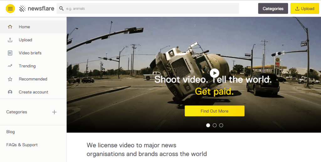 license your video