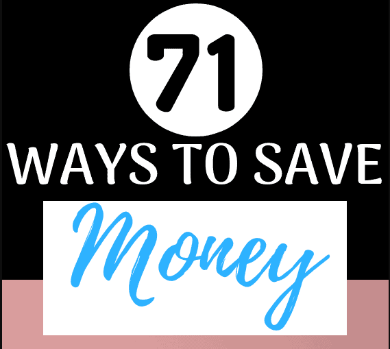 71 Simple Ways to Save Money