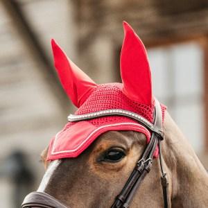 Kentucky Horsewear Bonnet Velvet Rouge En Cadence
