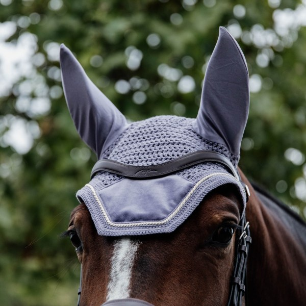 Kentucky Horsewear Bonnet Velvet Violet En Cadence