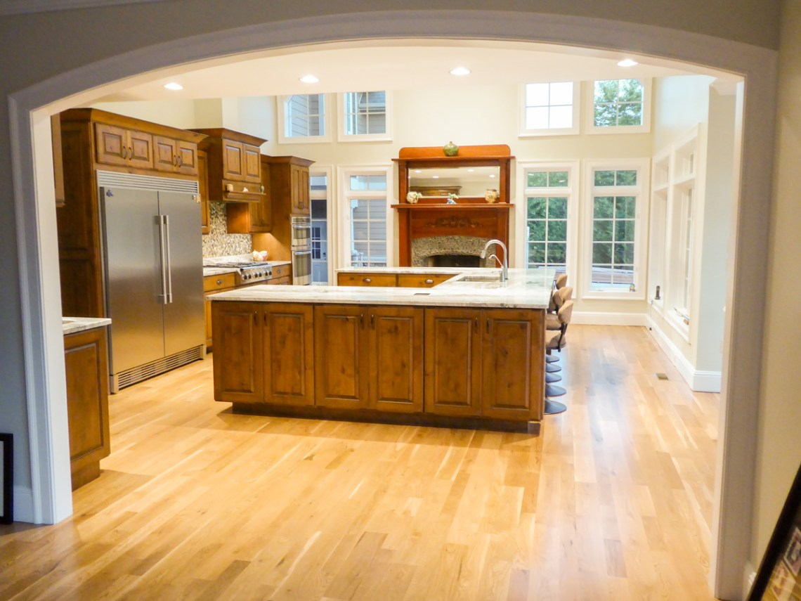 New Residence Kitchen Wiring Sellers Electrical Contractors Counter Outlets Specialized For Built In Ovens Etc Asheville
