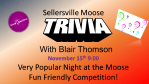 Trivia Night November 15th