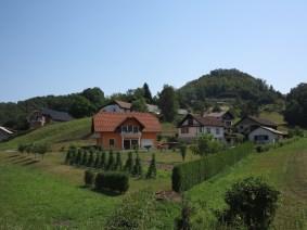 Petite vallée slovène enchanteresse