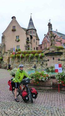 Eguisheim, le plus beau village de France.