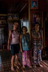 Hospitalité inoubliable chez une famille cambodgienne