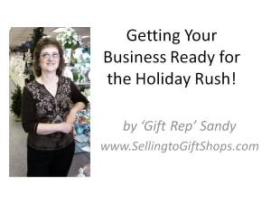 Getting Your Business Ready for the Holiday Rush!