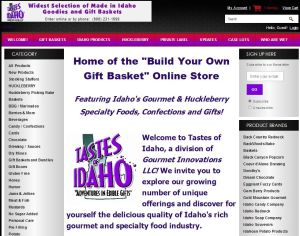 Starting 2019 with a New Website: Tastes of Idaho