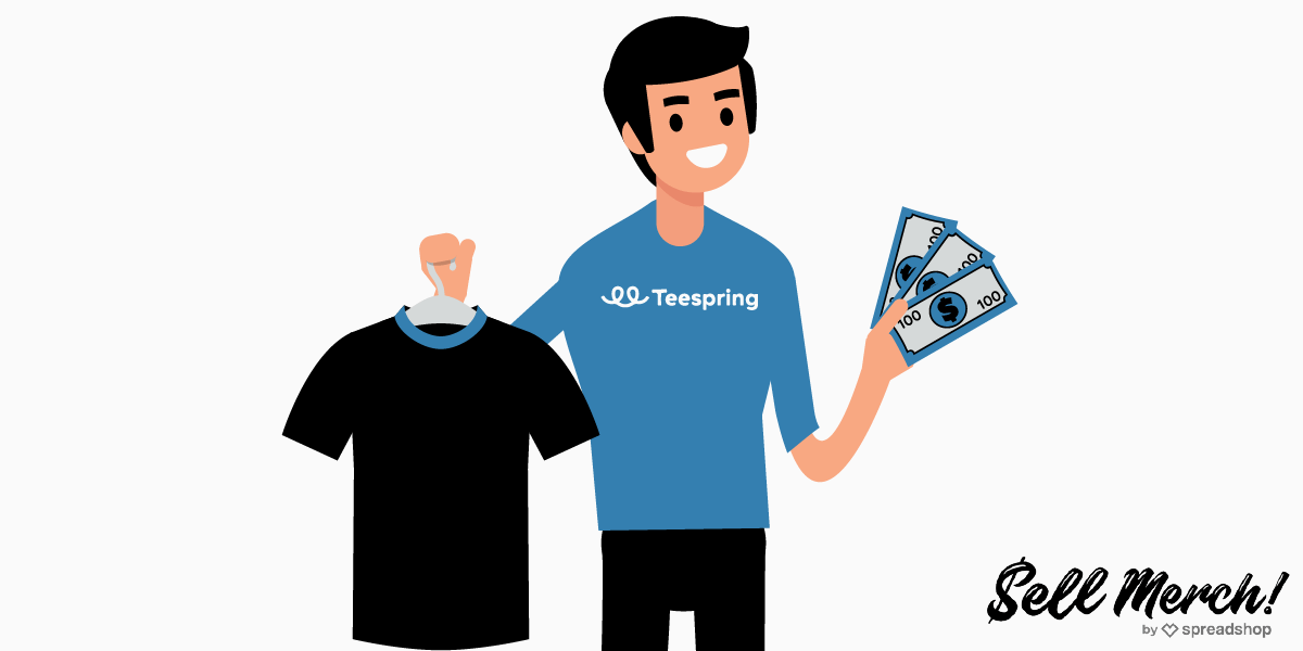 How to sell with Teespring
