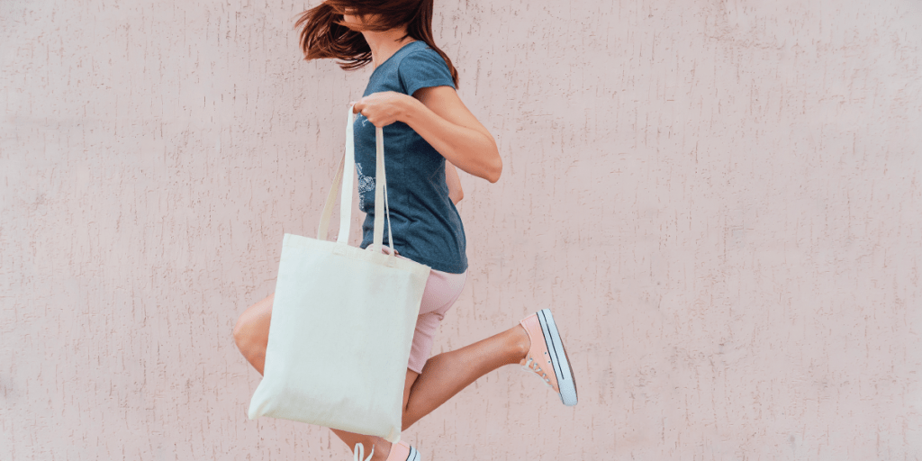 Eco friendly tote bags have lead the way in custom merchandise in 2019