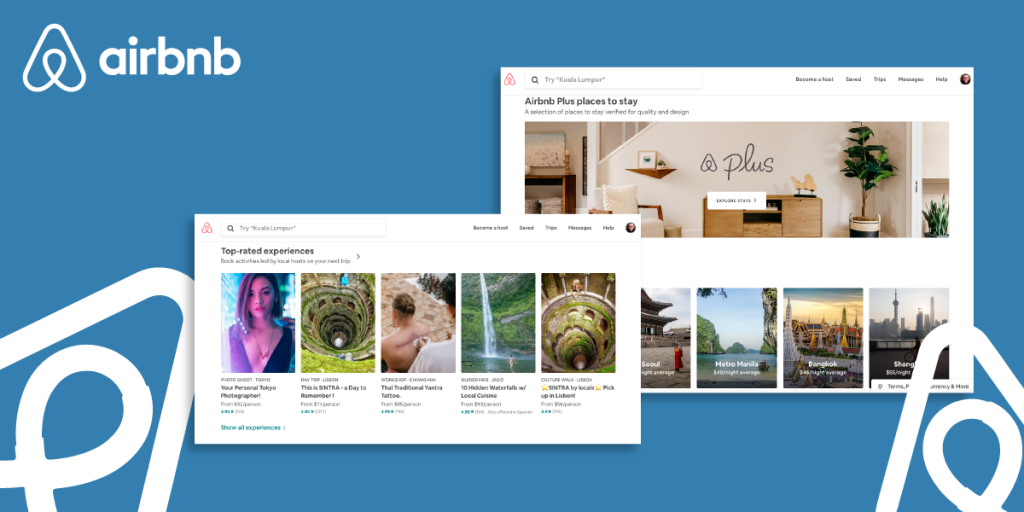 Airbnb brand identity example