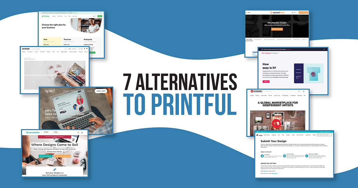 Alternatives to Printful