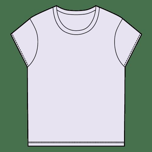 Types of T-shirts - Cap-sleeve T-shirt