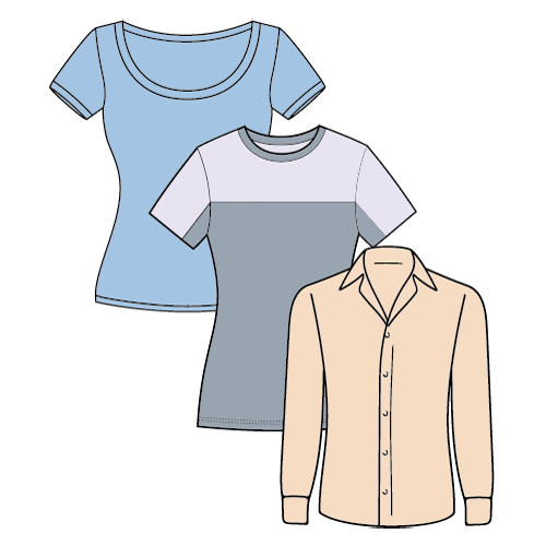 Types of T-shirts - Girls Shirt