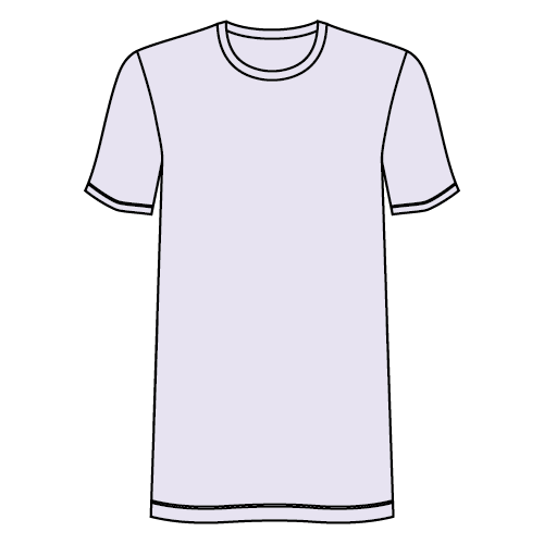 Types of t-shirts - Longline T-shirt