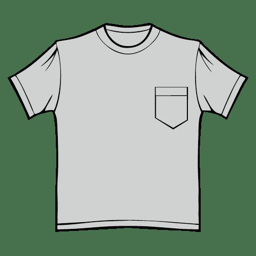 Types of T-shirts - Pocket T-shirt