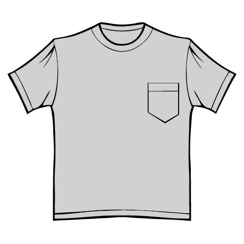 Types of T-shirts - Pocket T-shirt