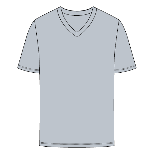 Types of T-shirts - V-neck T-shirt