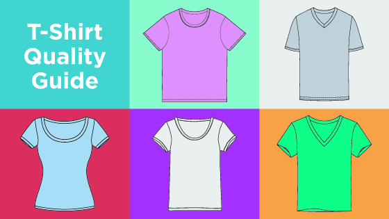 T-shirt quality guide