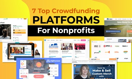 Crowdfunding platforms for nonprofits