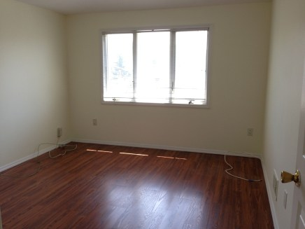 Living room with new pergo flooring