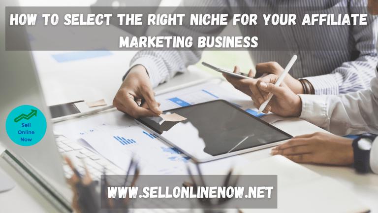 Profitable Niche in Affiliate Marketing