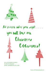 Christmas Booklet Cover or Half size Postcards #3 lo res