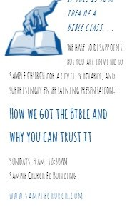 Invitation Card Bible Class lo res