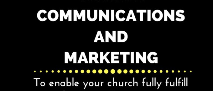 BOOK as a SALES tool for you: The Five Steps of Effective Church Communications and Marketing